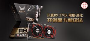 【抢先首发众测】XFX 讯景 R9 370X 4G 黑狼?进化显卡