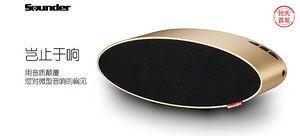 【抢先首发众测】Sounder 声德 N6 核桃蓝牙音箱
