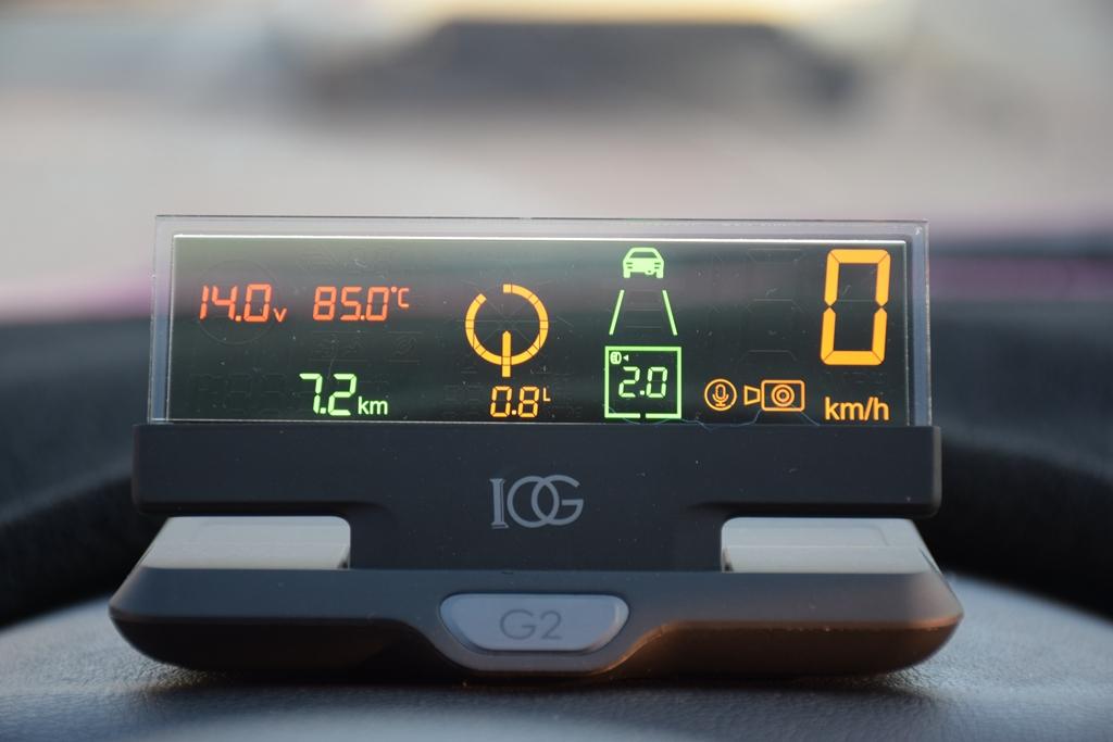 多种黑科技加入,只为驾驶更安全—欧果G2智能行车助手体验