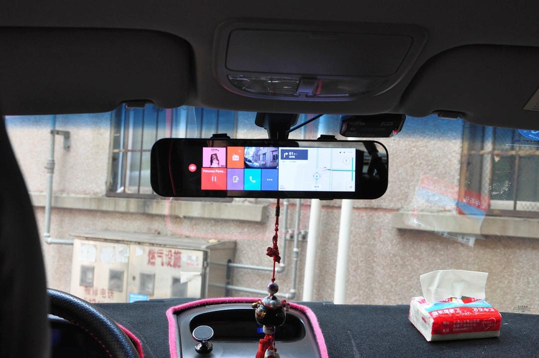 70迈智能后视镜梦想版:升级导航麻烦?装上它即刻享受万元汽车配置