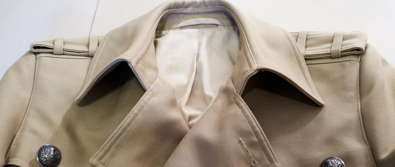 我的小众衣橱 篇十二:Balmain双排扣风衣分享
