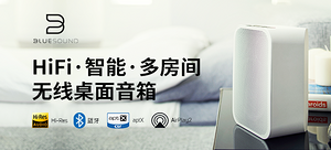 BLUESOUND PULSE FLEX 2i (蓝嗓子 脉动S号) 智能无线 蓝牙桌面音箱